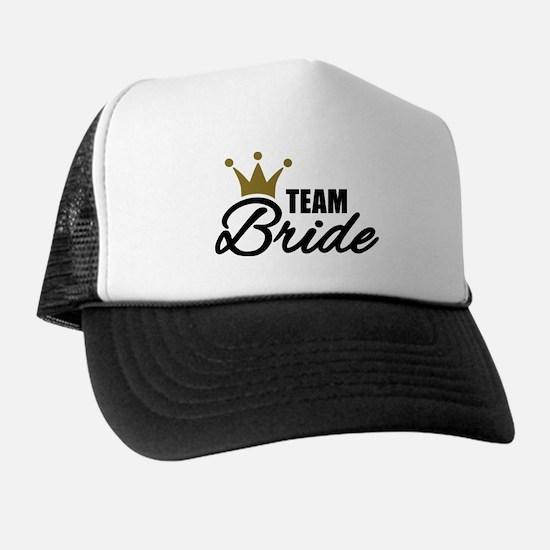 Team Bride crown Trucker Hat