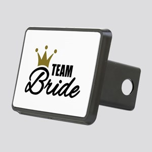 Team Bride crown Rectangular Hitch Cover