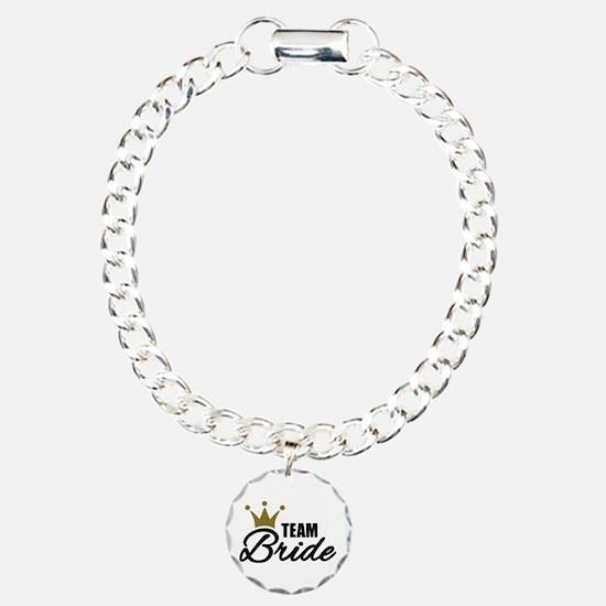 Team Bride crown Bracelet