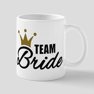Team Bride crown Mug