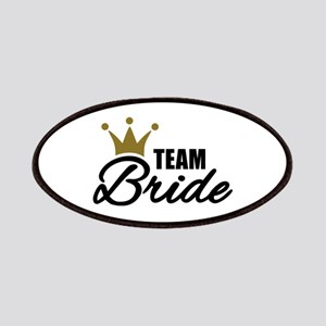 Team Bride crown Patches
