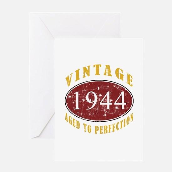 1944 Vintage (Red) Greeting Card