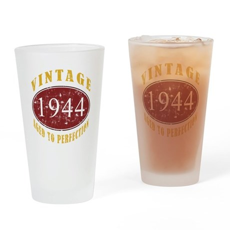 1944 Vintage (Red) Drinking Glass