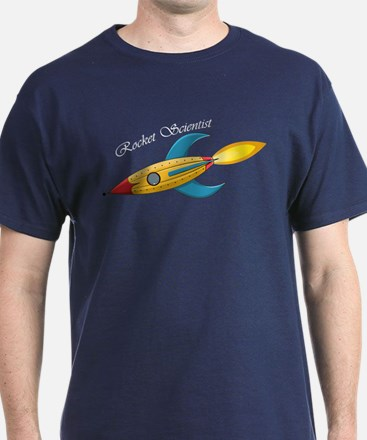 Rocket Scientist Rocket Ship T-Shirt