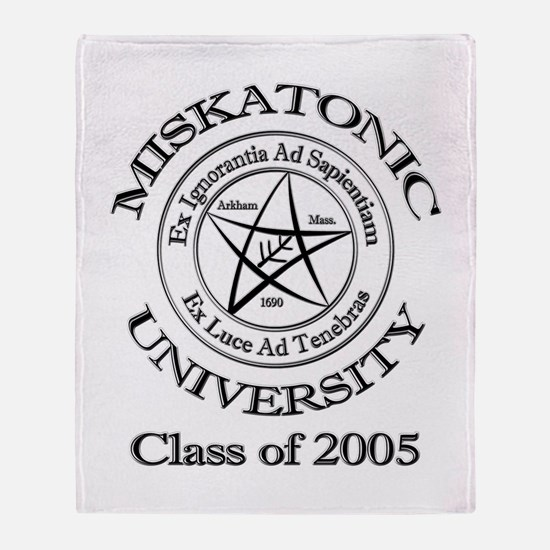 Class of 2005 Throw Blanket