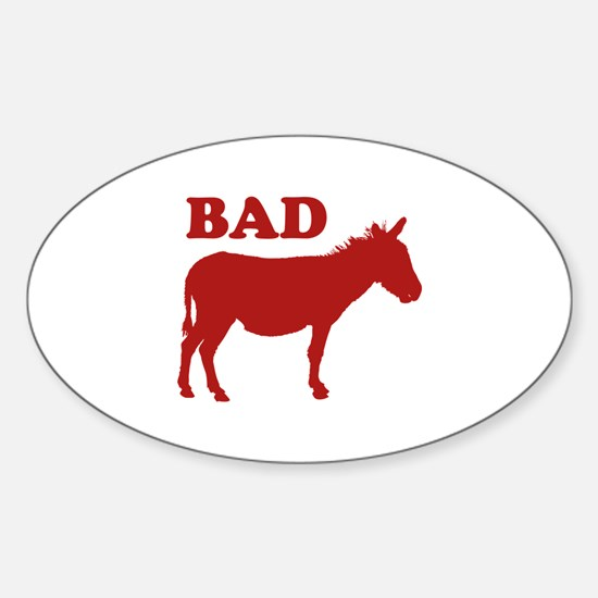 Badass Sticker (Oval)