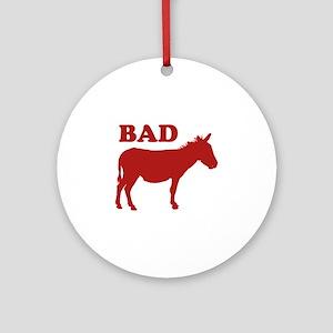 Badass Ornament (Round)