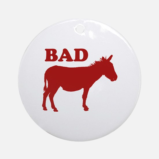 Badass Ornament (Round)