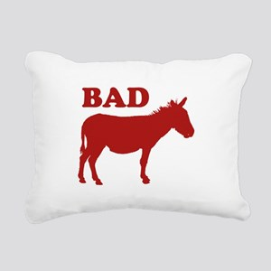 Badass Rectangular Canvas Pillow
