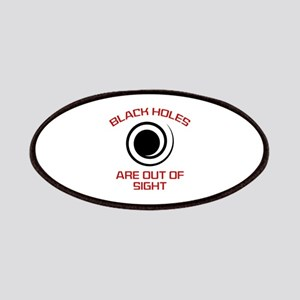 Black Holes Are Out Of Sight Patches