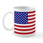 Left-Handed USA Flag Mug