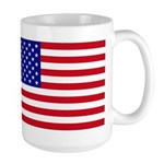 American Flag - Large Mug
