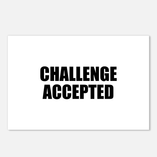Challenge Accepted Postcards (Package of 8)