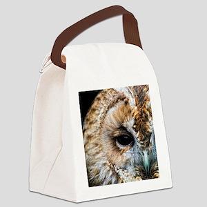 Tawny Owl  Canvas Lunch Bag