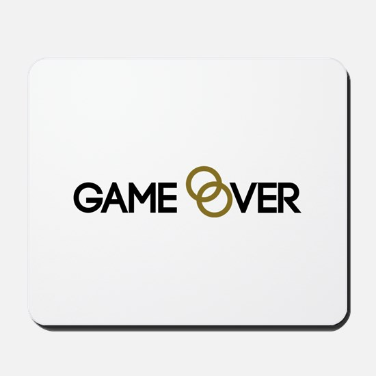 Game over Wedding rings Mousepad