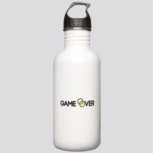 Game over Wedding rings Stainless Water Bottle 1.0
