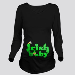 Irish Baby Long Sleeve Maternity T-Shirt
