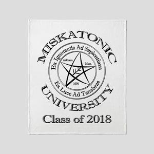 Class of 2018 Throw Blanket