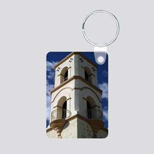 Ojai Tower Aluminum Photo Keychain