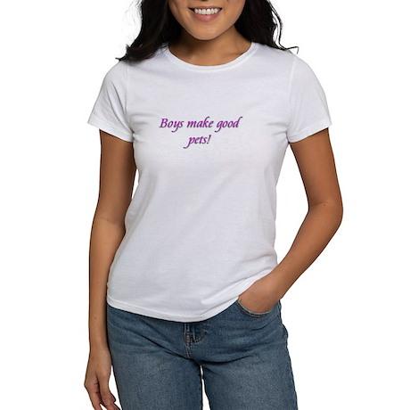 Boys make good pets Women's T-Shirt