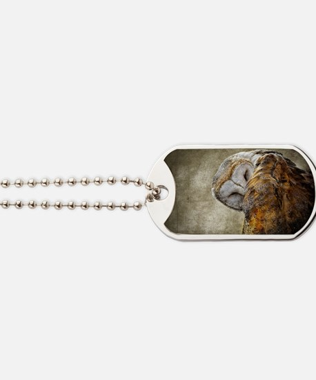 Barn Owl Dog Tags