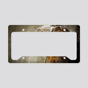 Barn Owl License Plate Holder