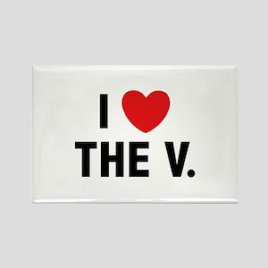 I Love The V. Rectangle Magnet