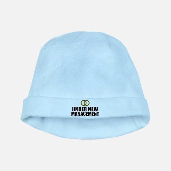 Under New Management Wedding baby hat