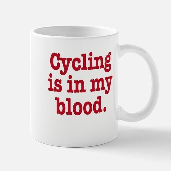 Unique I heart cycling Mug