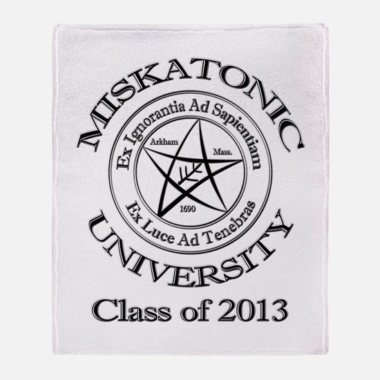 Class of 2013 Throw Blanket