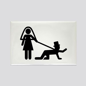 Bachelor party Wedding slave Rectangle Magnet