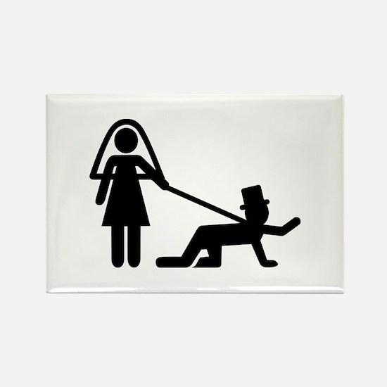 Bachelor party Wedding slave Rectangle Magnet