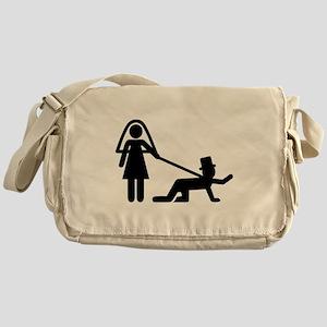 Bachelor party Wedding slave Messenger Bag