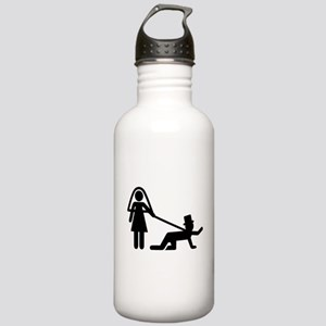 Bachelor party Wedding slave Stainless Water Bottl