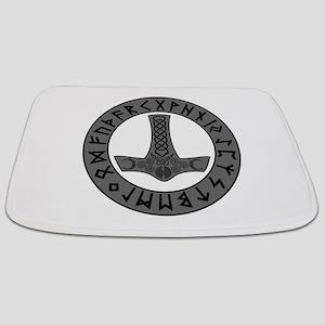 Mjölnir Rune Shield Bathmat