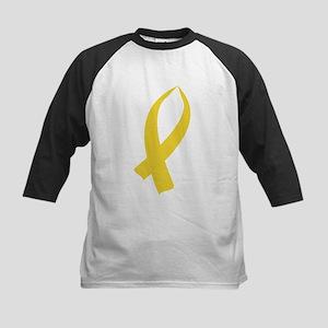 Awareness Ribbon (Gold) Baseball Jersey