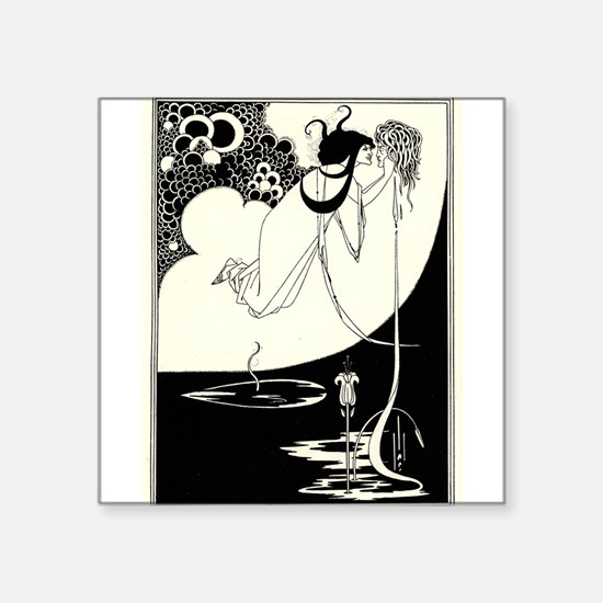 """The Climax' by Aubrey Beardsley Sticker"