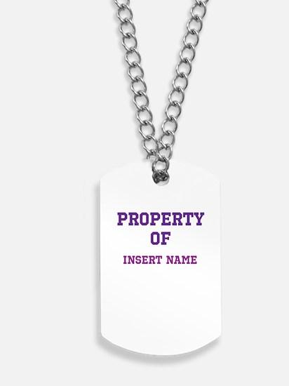 Customized Property Dog Tags