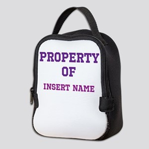 Customized Property Neoprene Lunch Bag