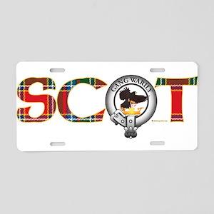 Drummond Clan Aluminum License Plate