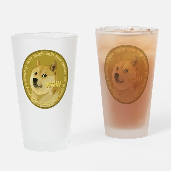 OFFICIAL DOGECOIN Drinking Glass