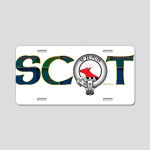 Colquhoun Clan Aluminum License Plate