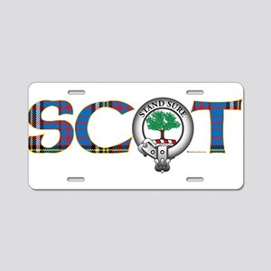 Anderson Clan Aluminum License Plate