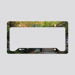 Autumn at Greenbrier Cove License Plate Holder