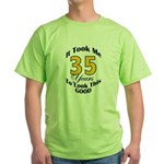 35 Years Old Green T-Shirt
