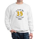 35 Years Old Sweatshirt