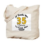 35 Years Old Tote Bag