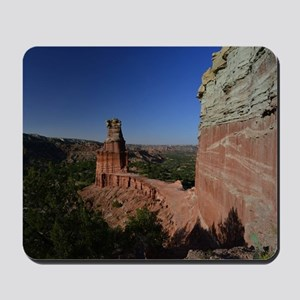 The Lighthouse in Palo Duro Canyon Mousepad