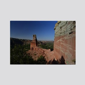 The Lighthouse in Palo Duro Canyo Rectangle Magnet