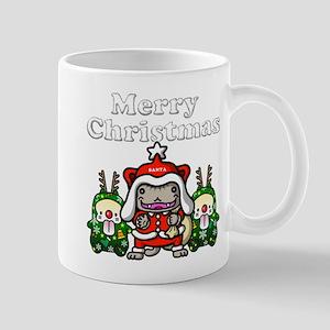 Merry-Chri Santa-nyan Mug